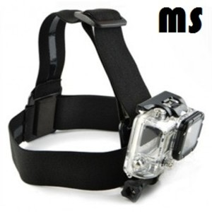 Head Strap for Action Cam (Xiaomi GoPro) Hitam/Black