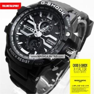 Jam Tangan Pria Casio G-Shock X-Factor  Black White