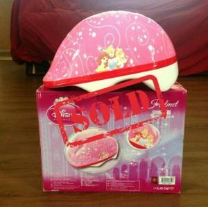 Helm sepeda anak motif DISNEY