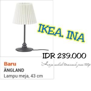 Ikea Not Lampu Lantai Sorot Atas Dan Lampu Baca Hitam Putih Daftar Source · ANGLAND LAMPU