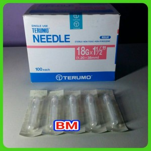 Terumo Needle 18G ( 1 Box )