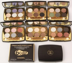 eyeshadow chanel 1473 - CHANEL EYE SHADOW 6 COLOR