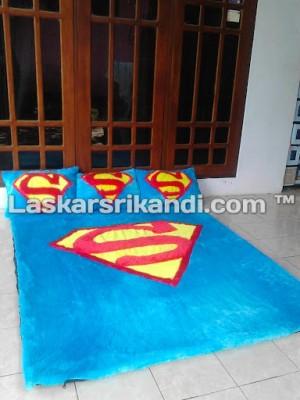 KARPET SET KARAKTER SUPERMAN