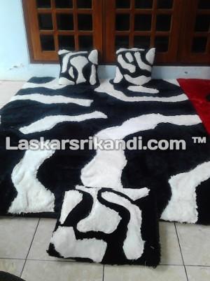 Karpet Set Karakter Zebra