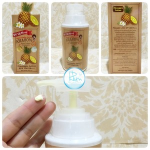 OVER WHITE PINEAPPLE LOTION SPF 100 PA +