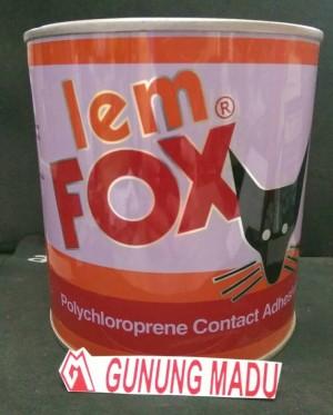 Jual LEM FOX KUNING 600 GR LEM KARPET SENDAL KULIT HPL