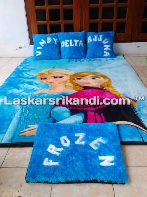 Karpet Set Karakter Frozen