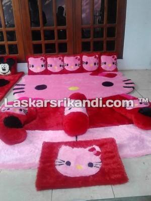 Karpet Fullset Karakter Badan Hello Kitty