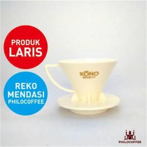 Kono Meimon Dripper 1-2 cups Putih