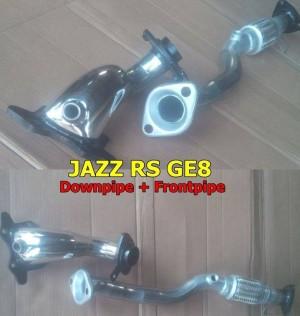 Downpipe dan Frontpipe Untuk Honda Jazz GE8
