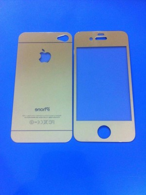 TEMPEREDGLASS WARNA FULLSET IPHONE 4,4S,5,&5S