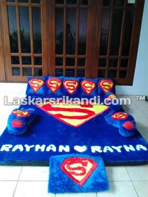 Karpet Fullset Karakter Superman