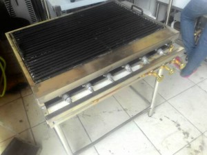 Gas Grill Bakaran Full Stainless