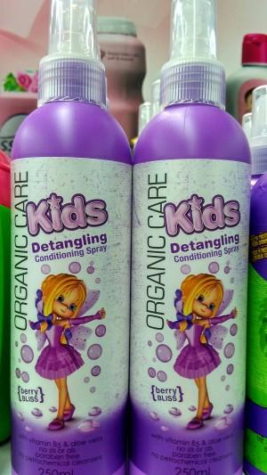 ORGANIC CARE KIDS DETANGLING SPRAY