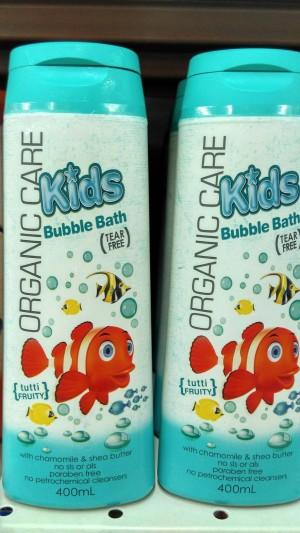 ORGANIC CARE KIDS BUBBLE BATH