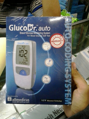 Cek Gula Darah Gluco Dr Auto