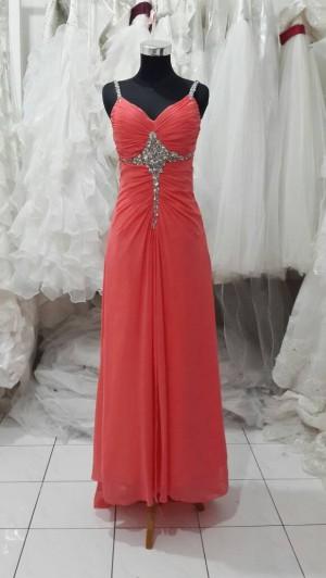 long dress salem tua/ungu tua