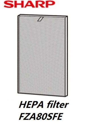 Jual FU A80Y Filter Replacement HEPA Sharp Filter