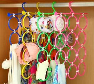 Gantungan Jilbab / Hijab, Scarf, Dasi, Belt dll 12 loop