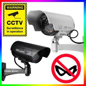 Kamera / Camera CCTV Dummy / Palsu / Tiruan / Fake / Simulasi OUTDOOR