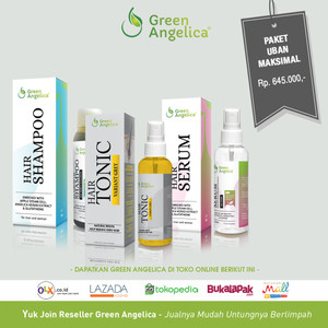 Green Angelica Paket Penghitam Rambut