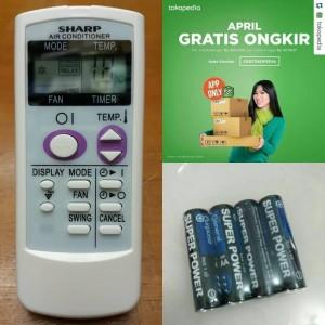 harga Remot Remote AC Sharp ORIGINAL ion Plasmacluster Tokopedia.com