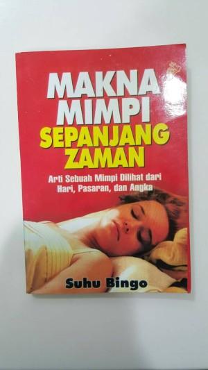 Buku Arti Mimpi Makna Mimpi Sepanjang Zaman Suhu Bingo