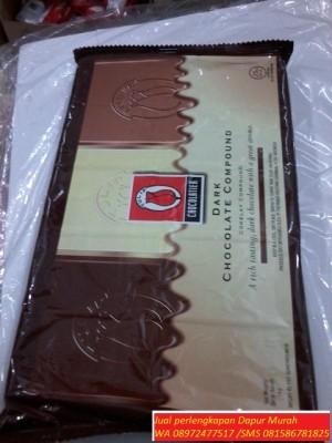 Jual Coklat Batangan merk Tulip 1 kg Sinar Barokah Jaya