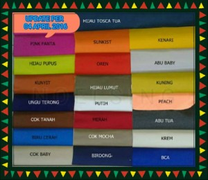 harga Uk 120 Warna Polos SPREI ANTI AIR Tokopedia.com