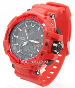 G-Shock GWA 1100 Full Red