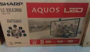Jual LED TV Sharp Aquos 32 Inch LE265