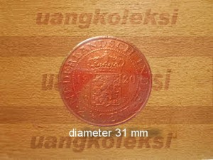 UANG BENGGOL/KOIN KUNO NEDERLANDSCH INDIE 2 1/2 CENT 1920