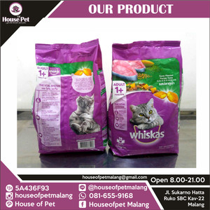 [Makanan Kucing Murah] Whiskas 1.2kg Dewasa Tuna