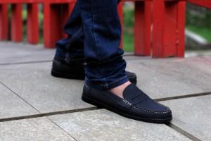 Sepatu Slip On Paradise Black