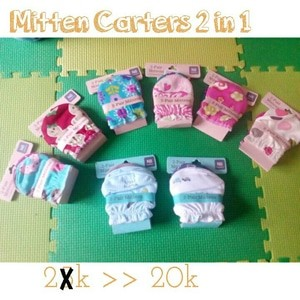 Mittens 2in1 carters