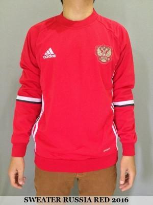 SWEATER RUSIA (RUSSIA) RED EURO 2016 SEMI GRADE ORI