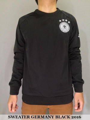 SWEATER JERMAN (GERMANY) BLACK EURO 2016 SEMI GRADE ORI