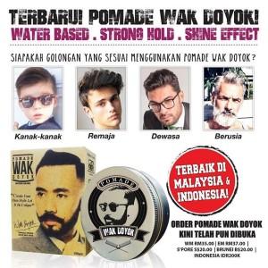 Wak Doyok Original   Pomade Wak Doyok Asli