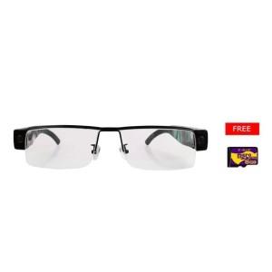 Spy Cam 720 HD Kacamata SM12 Memori 8GB