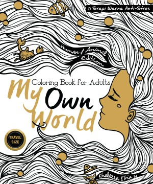 My Own World Coloring Book For Adults 40Travel