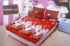 Sprei D'luxe Kintakun ukuran 180 x 200 – Marrie Cat