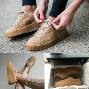 new style 006c0 a65b7 Jual Sepatu Puma Creepers X Rihanna Brown Gum Original Premium Quality BNIB  - Kota Bandung - nawala shop | Tokopedia