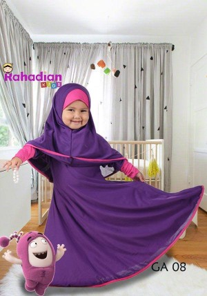 Gamis Anak Jersey 05 M