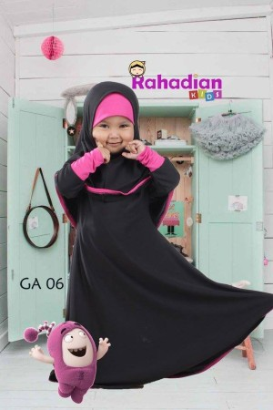 Gamis Anak Jersey 04 M
