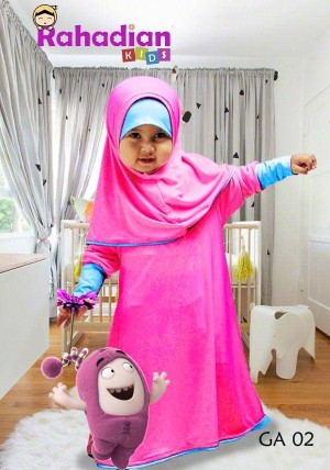 Gamis Anak Jersey 02 S