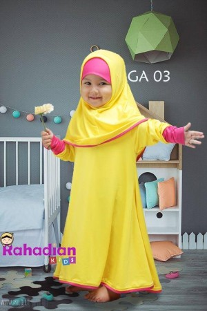 Gamis Anak Jersey 03 XL