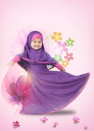 Gamis Anak Jersey 05 XL