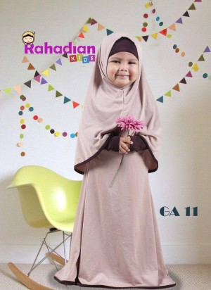 Gamis Anak Jersey 08 L