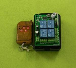 Remote Switch 12V RF 4Channel 315MHz