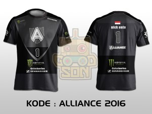 JERSEY / KAOS TEAM GAMING DOTA 2 ALLIANCE 2016